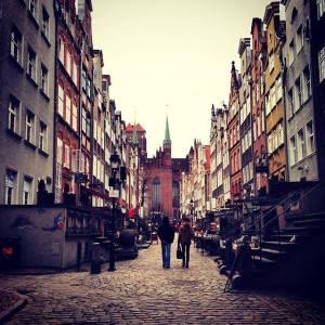Amber Road; Gdansk, Poland